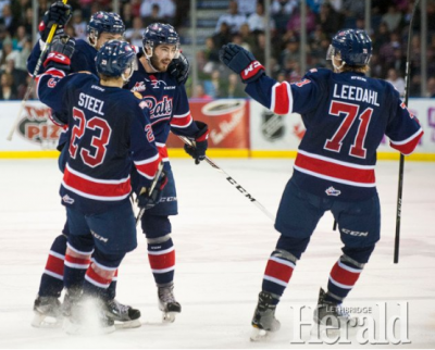 Regina Pats even WHL East final at 2 with 6-2 victory over Lethbridge