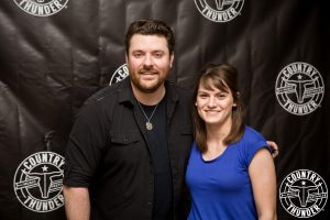 Kelsey with Chris Young!