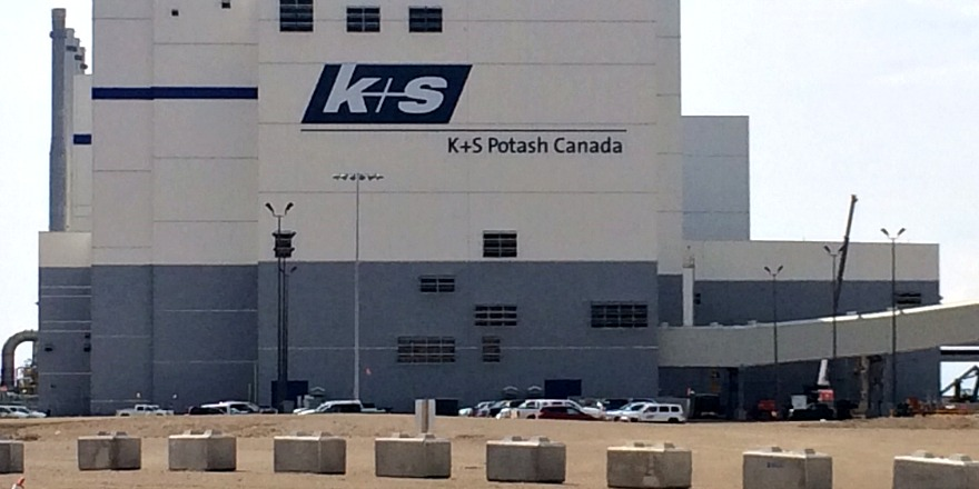 K + S Potash officially opens Bethune mine on Tuesday