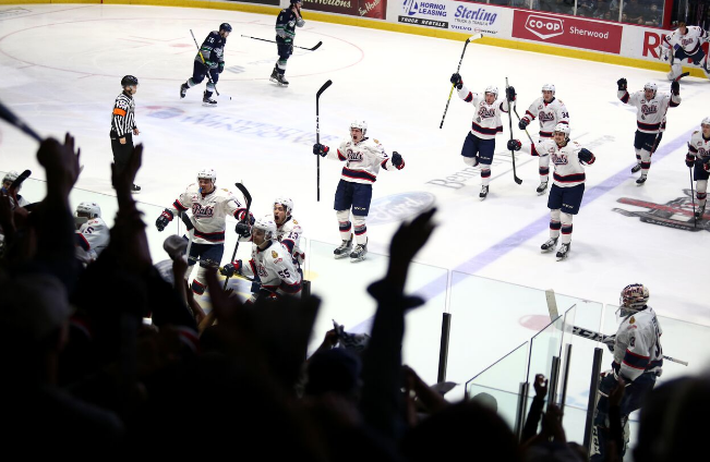 Josh Mahura the hero as Pats take Game 2 of WHL final in overtime; series tied at 1