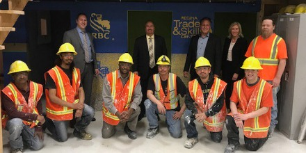 Regina Trades and Skills Centre students give back to the community