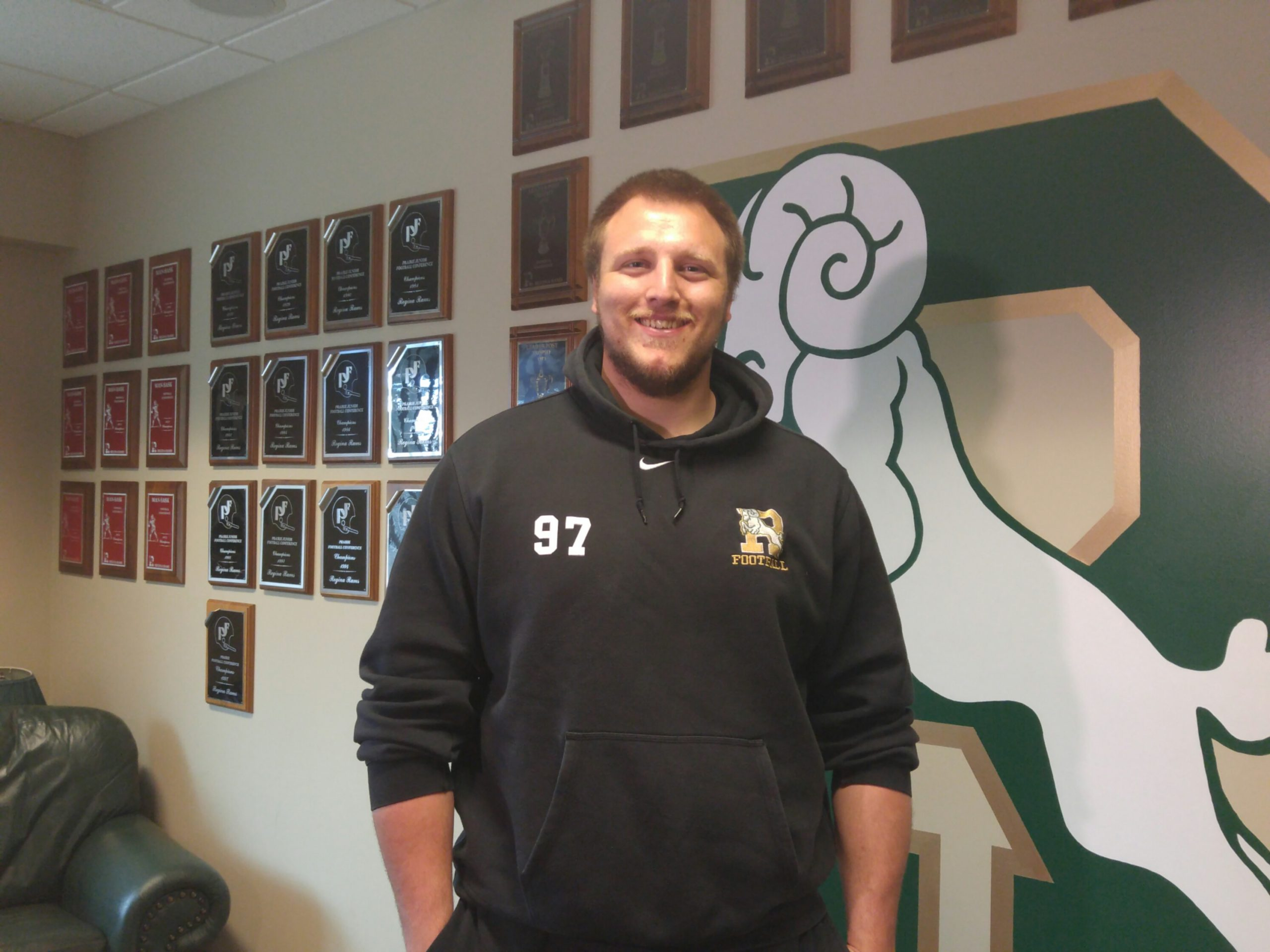 Regina Rams OL Jeremy Zver excited at chance to show his stuff for BC Lions