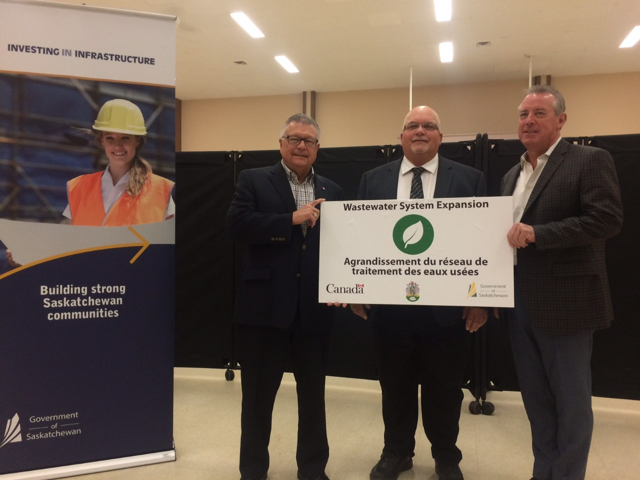Federal and provincial government commit $3 million towards Balgonie Wastewater project