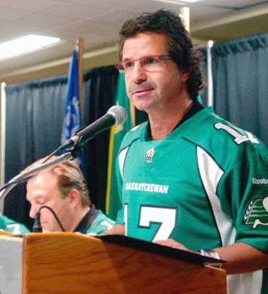 Former Regina mayor Pat Fiacco is glad people changed his mind on new Mosaic Stadium.