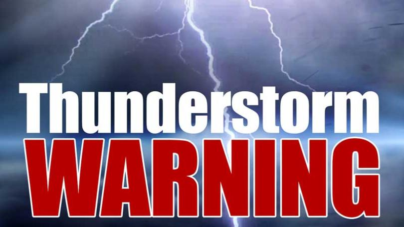 Severe thunderstorm warnings end in  SW Saskatchewan