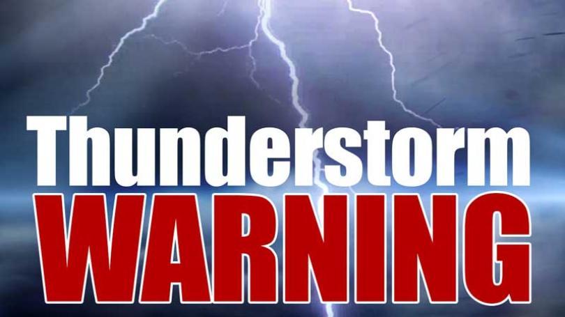 Severe thunderstorm warnings end in  SW Saskatchewan