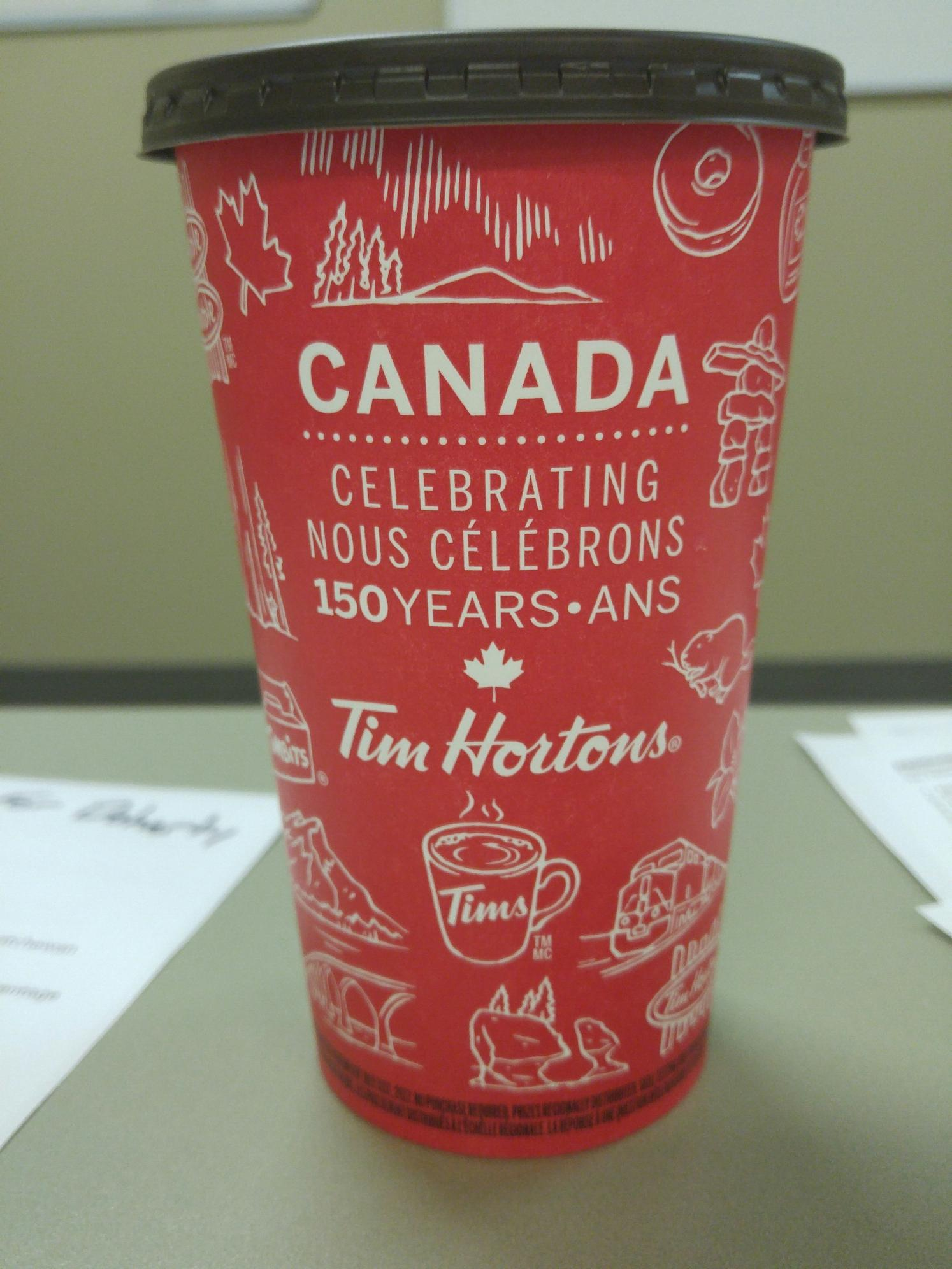 "Canada 150 ""Roll Up The Rim"" contest introduced"