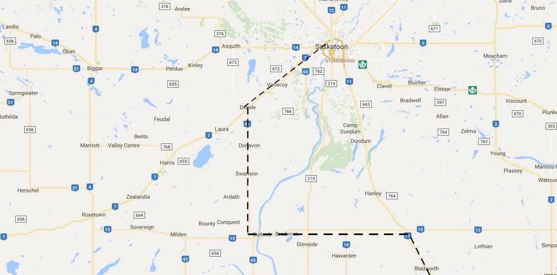 Massive equipment move underway on south Saskatchewan highways | 620 ...