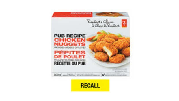 Brand of chicken nuggets pulled off Loblaw store shelves
