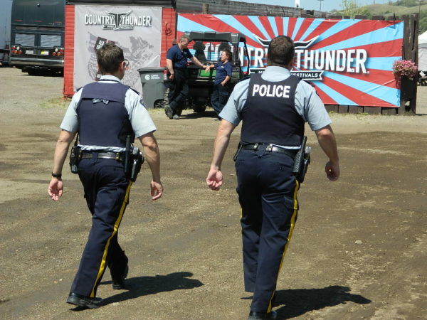 RCMP say Country Thunder attendees are mostly behaving
