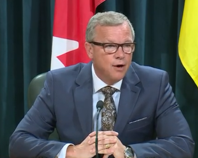 Premier Brad Wall says he will be staying neutral when it comes to Saskparty leadership race
