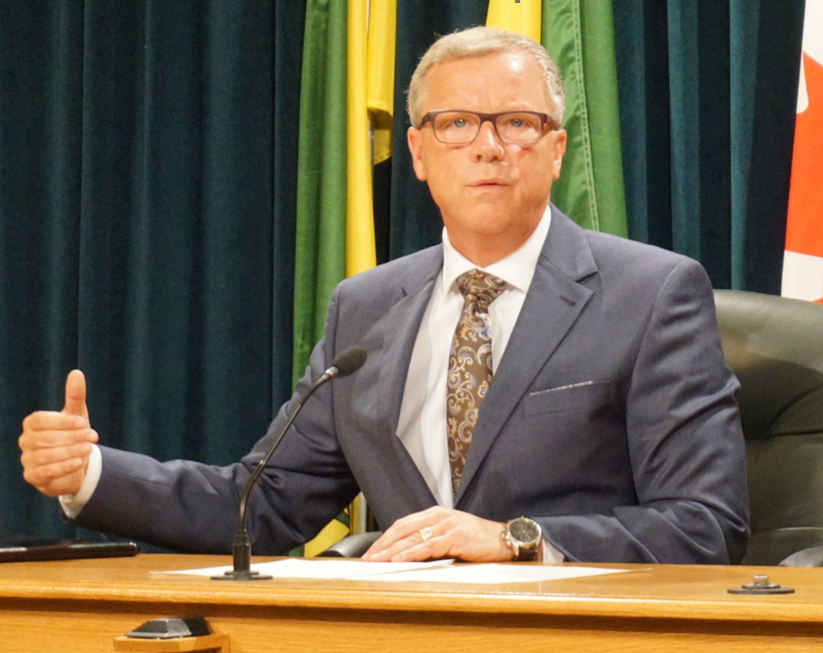 Saskatchewan Premier Brad Wall to step down from politics