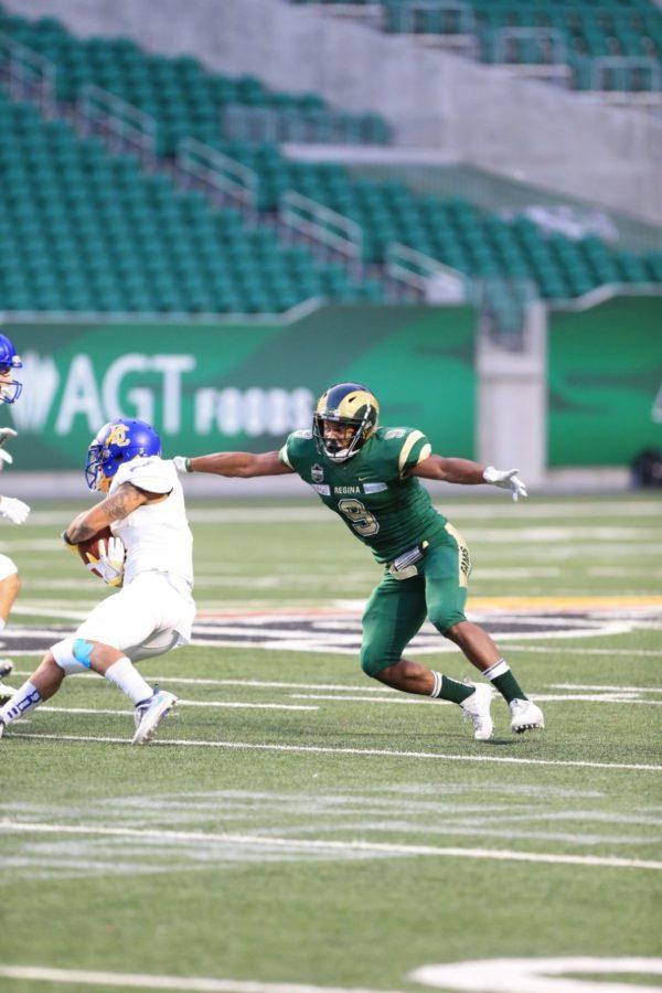 Regina Rams LB Nick Cross named Canada West football's defensive player of week