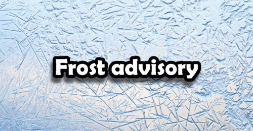 Frost could occur in some parts of Saskatchewan Sunday night