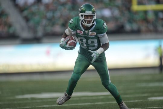 Four Saskatchewan Roughriders named CFL all-stars