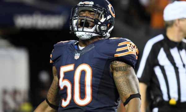 Bears NFL star banned for doping offence
