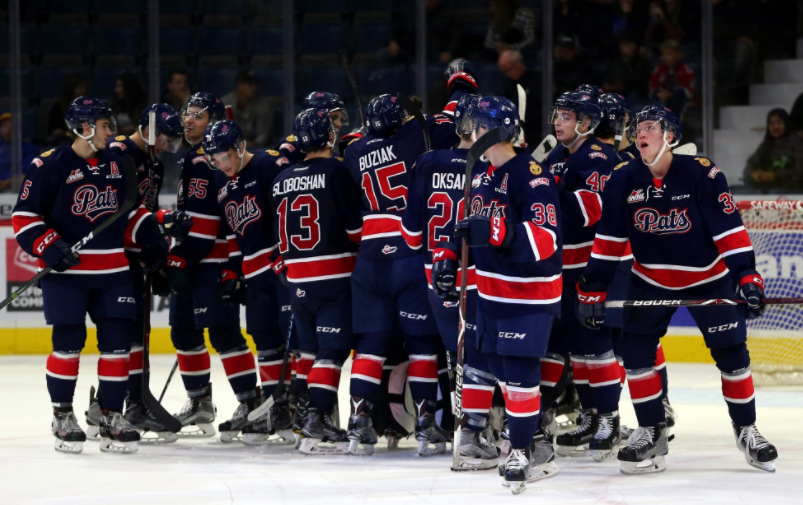Pats even record with win over Red Deer
