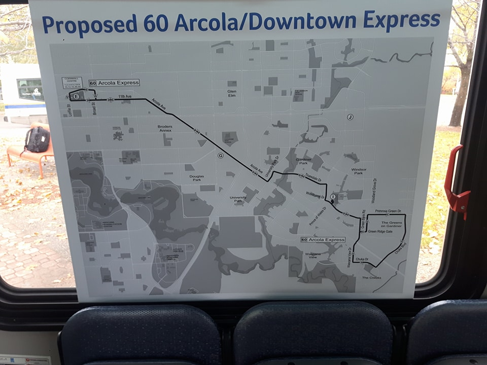 Regina city transit looking for public feedback on route changes