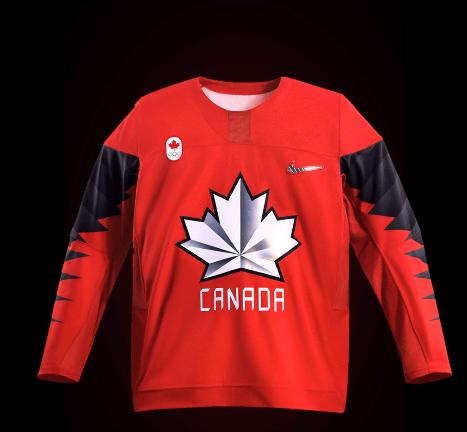 Olympic hockey jerseys unveiled