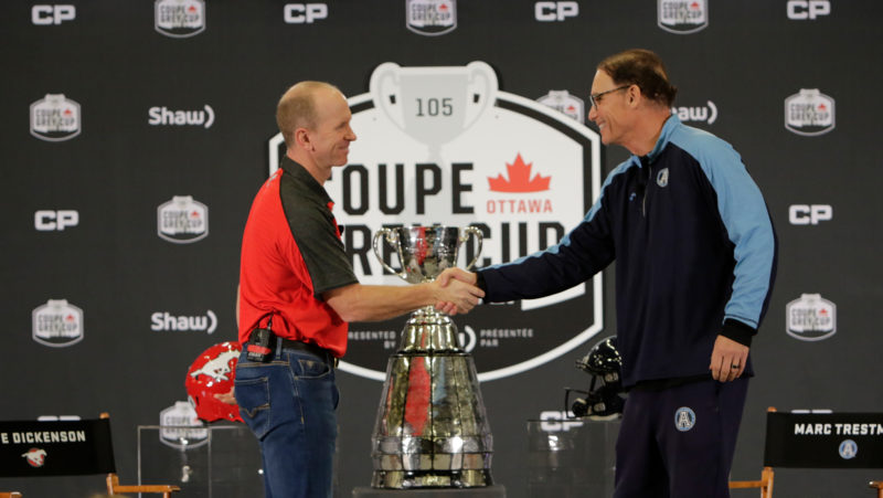 Grey Cup coaches discuss their teams and their past