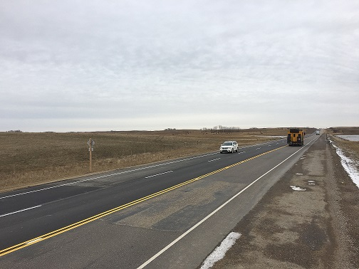 Passing lanes opened on Highway 5
