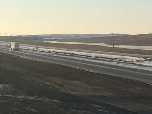 Twinning project on Highway 39 complete