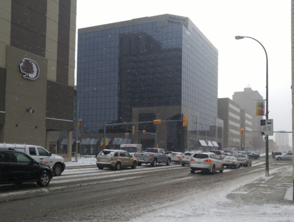 First snow of season causes real winter headaches on Regina streets