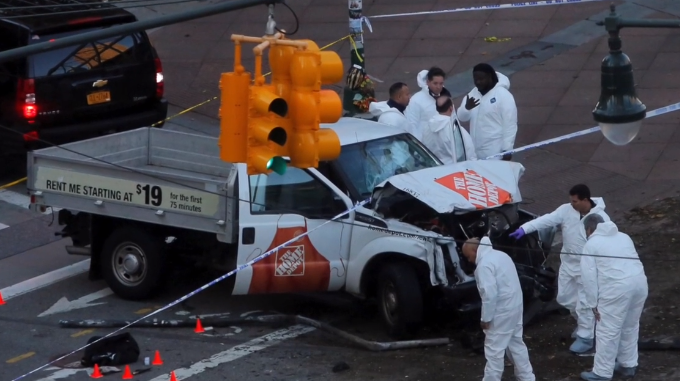 Suspect in deadly New York truck followed Islamic State plans