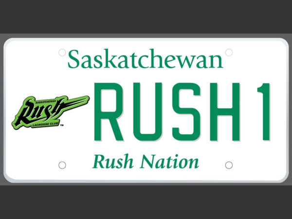 SGI offering Saskatchewan Rush licence plates