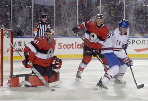 NHL 100 Classic goes to hometown Ottawa Senators