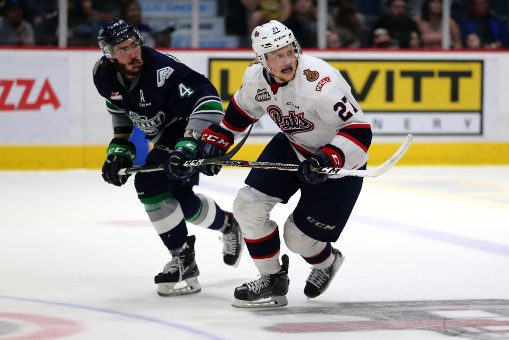 Austin Wagner will not be returned to Regina Pats