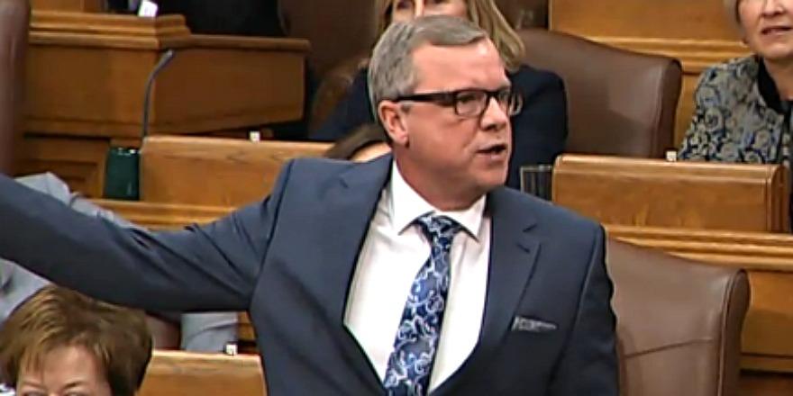 Saskatchewan Legislature reacts to Brad Wall's new job