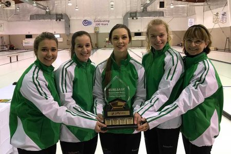 Sara England looking to make name for herself at Canadian Junior Curling Championship