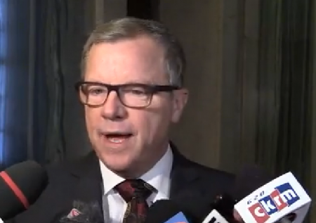 Brad Wall chairs last cabinet  meeting and cleans out office