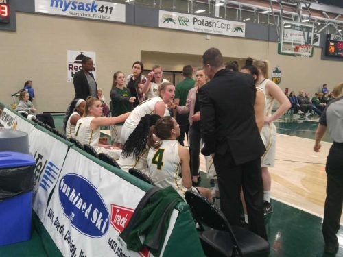 Nailbiter for U of R Cougars WBB team in Game 1 of Canada West semi-final