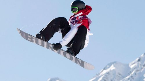 Teen Gerard wins slopestyle snowboarding for USA's 1st gold