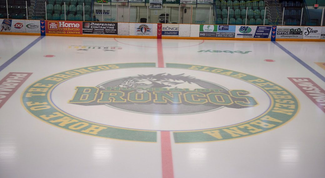 Hockey sticks left out, flags lowered to honour Humboldt Broncos
