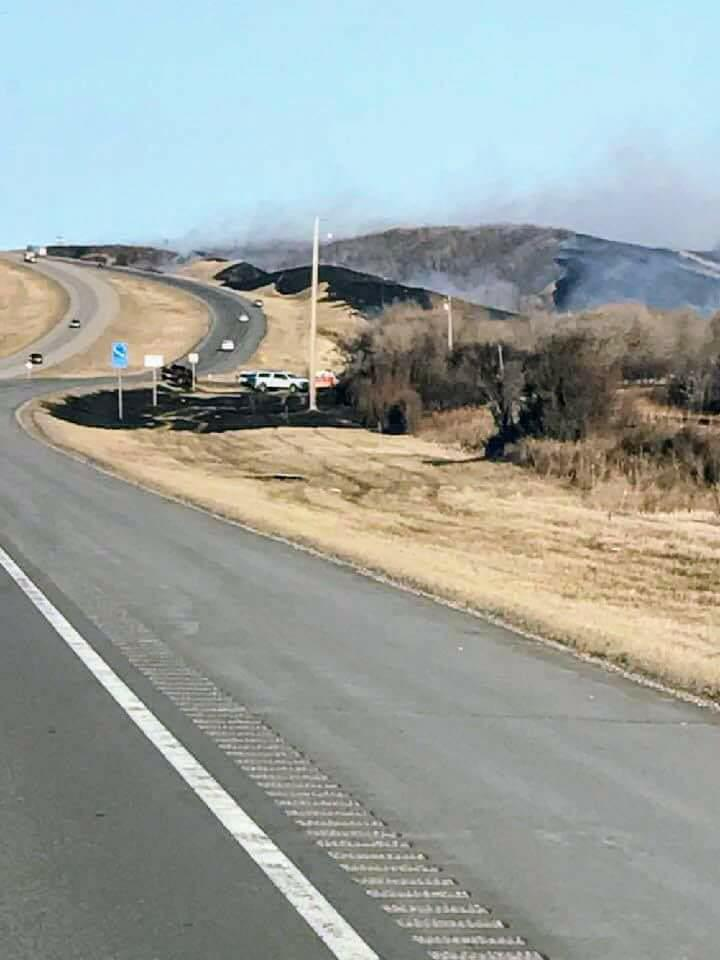 Lumsden grass fire under investigation