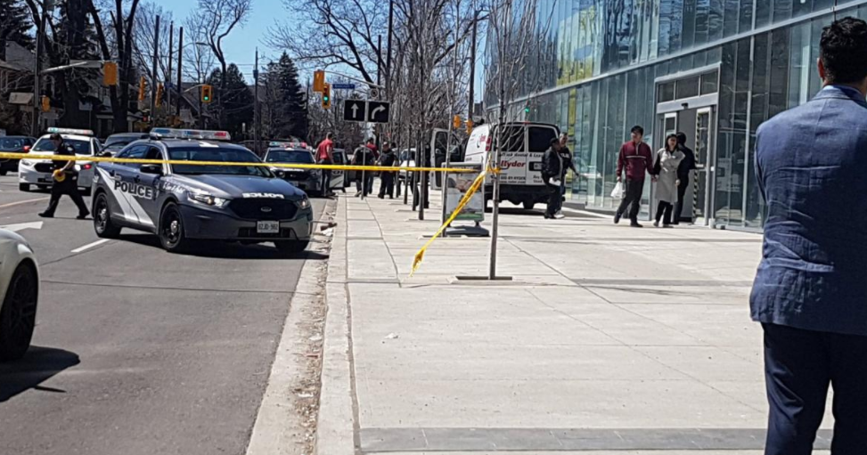 Ten dead in  Toronto after van strikes pedestrians