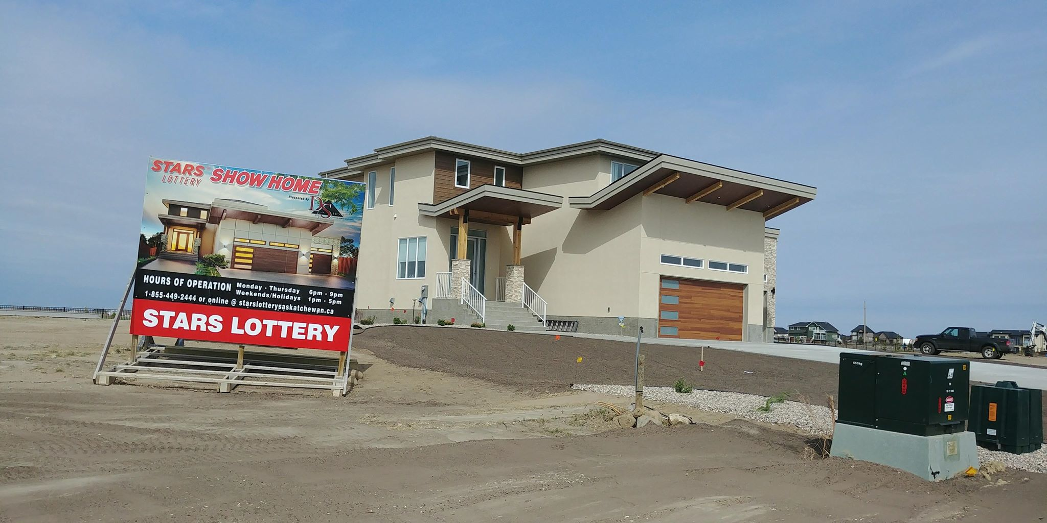 STARS home lottery lifts off in Pilot Butte