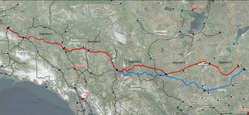 Think tank suggests northern railway to get oilsands bitumen to tidewater