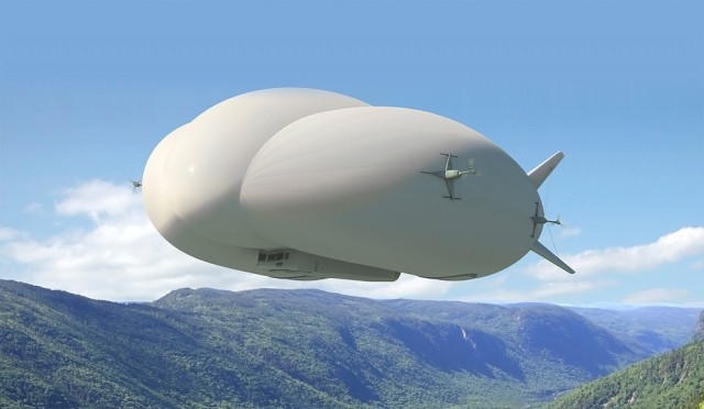 Are blimps the future of oilfield transportation? New deal could make it a reality