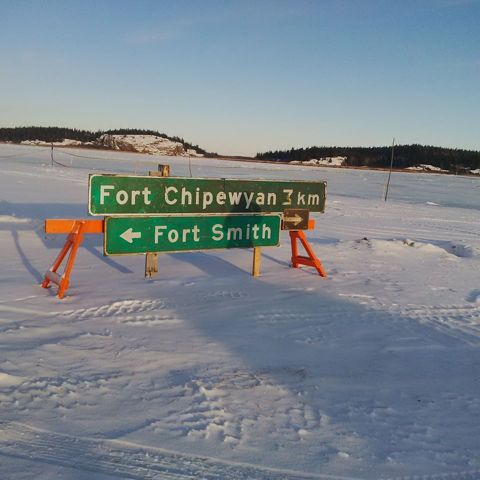 Restrictions on Fort Chipewyan Winter Road