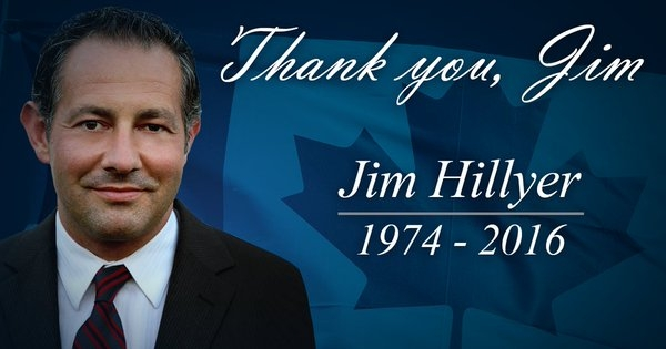 Alberta MP Jim Hillyer found dead this morning