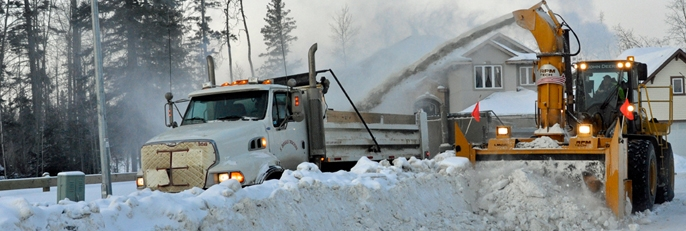 Municipality Working on Clearing Snow Throughout Weekend