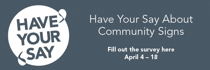 Survey up for community signage in Fort McMurray