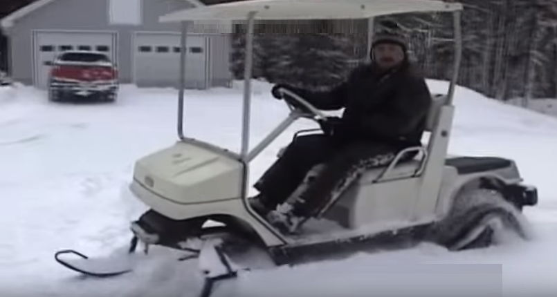 UPDATE: April Fools'!            Council to hear about using golf carts at Birchwood