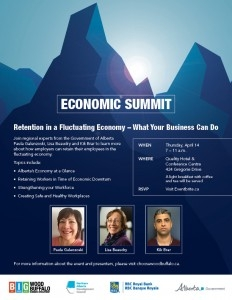 Economic summit to focus on employee retention