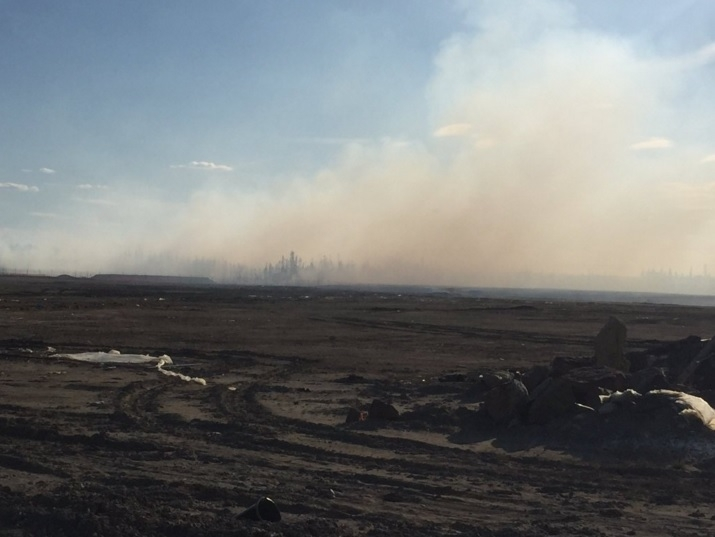 "Forest fire near Timberlea and Parsons Creek ""under control"" according to R.E.S."