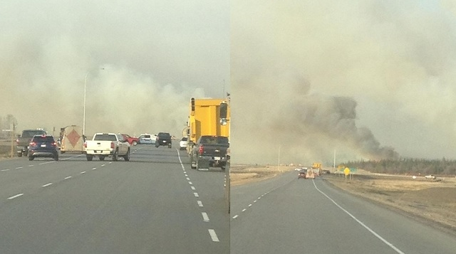 Grass fire temporarily shuts down Highway 63 near Atmore